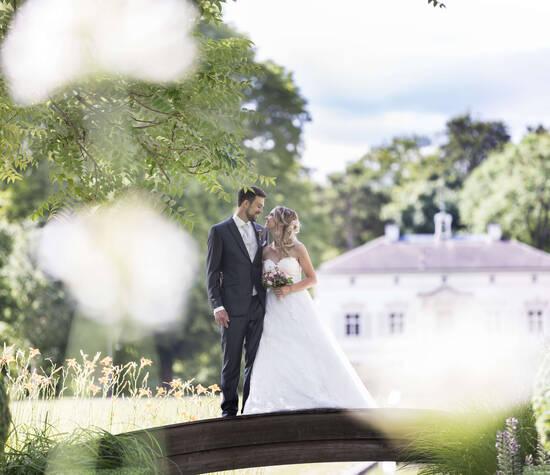 Hochzeitshooting in den Merian Gärten