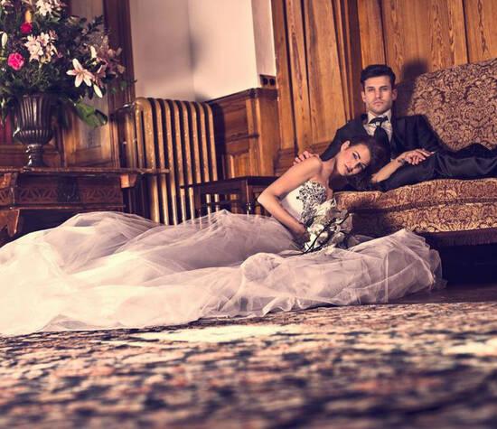 Beispiel: Hochzeits-Make-up, Foto: Judy Stettler Make-up Artist.