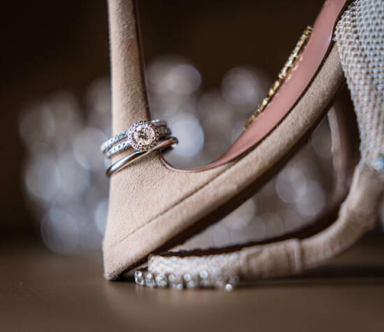 Hochzeitsringe Hochzeitsschuhe