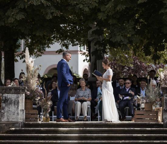 Hochzeit in der Villa Wenkenhof in Riehen