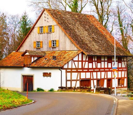 Das Zehntenhaus im Schloss Elgg