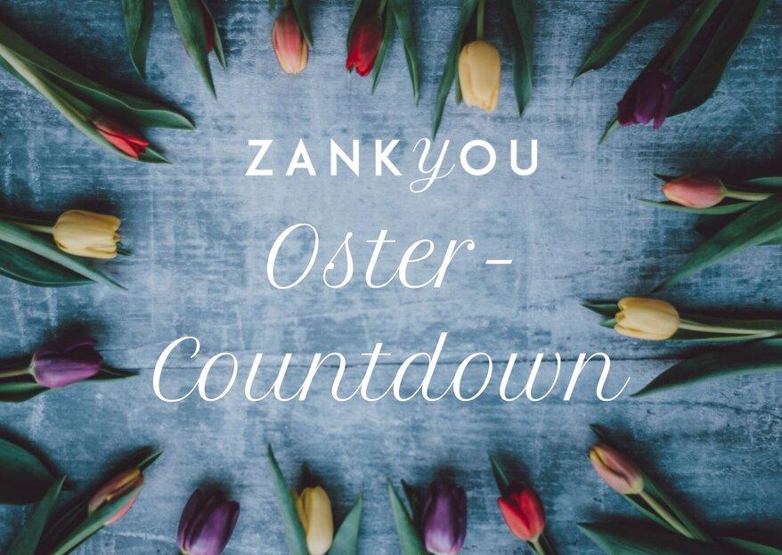 Der grosse Zankyou-Oster-Countdown 2021 mit tollen Geschenken