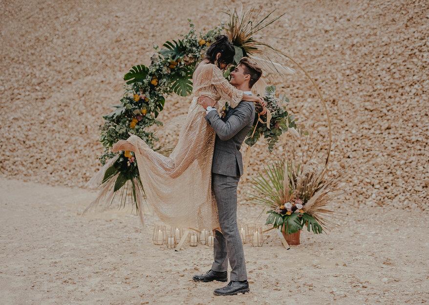 Orientalischer Hochzeitstraum wie in 1001 Nacht