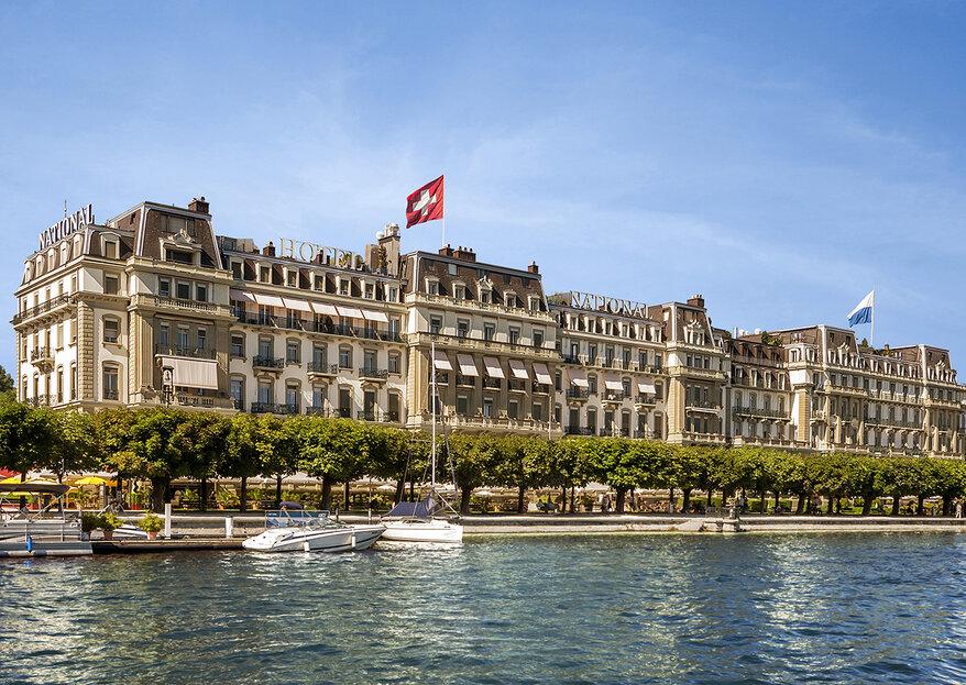 Hochzeit in Luzern: Feiern Sie in einem der legendärsten Hotels der Schweiz!