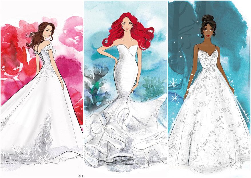 Sichern Sie sich eines dieser Disney-Brautkleider für Ihre Märchenhochzeit!