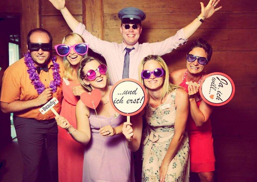 7 lustige Hochzeitsspiele: Witzig & unterhaltsam!