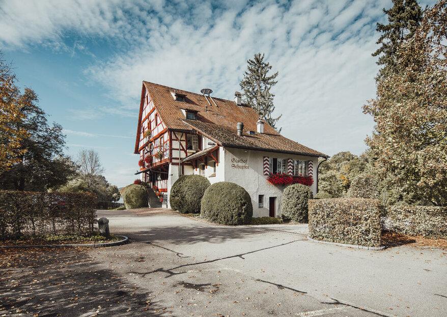Rustikale Hochzeitslocations: Urchige Hotels und Gasthöfe in der Schweiz