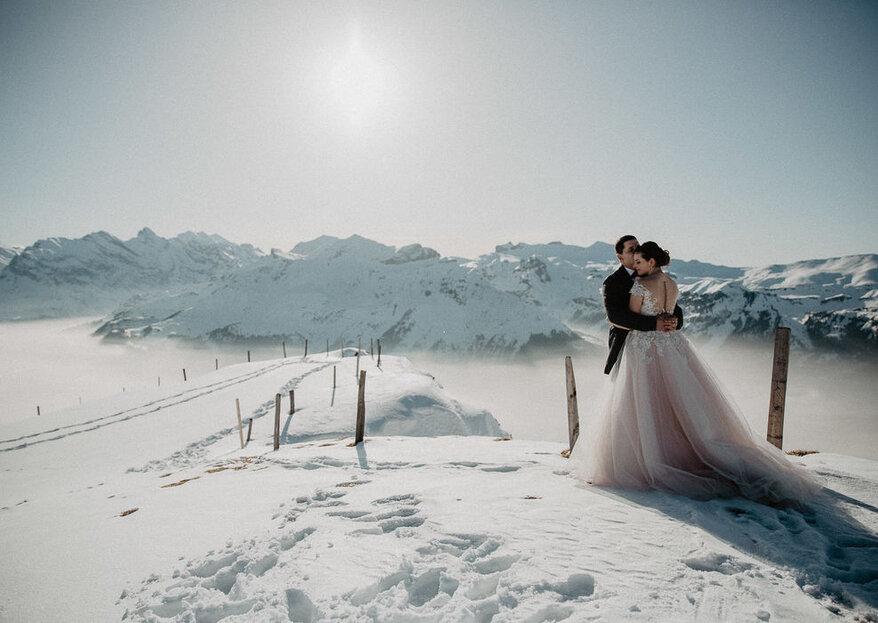 Tipps und Inspirationen für eine romantische Winterhochzeit