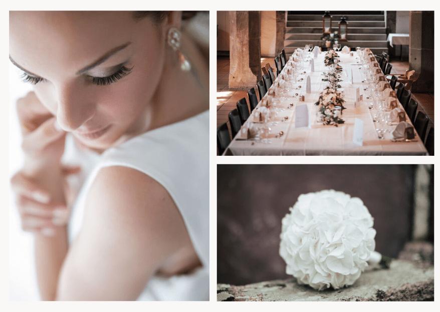 Weniger ist mehr: Dienstleister für eine Minimalistic Wedding