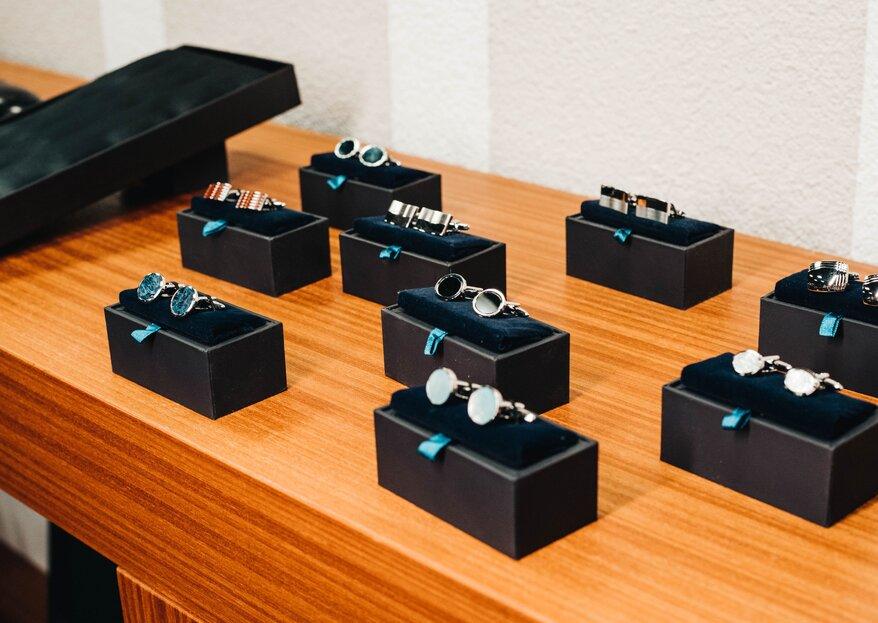 Manschettenknöpfe für den Bräutigam! Das Herren-Accessoire für die Hochzeit.