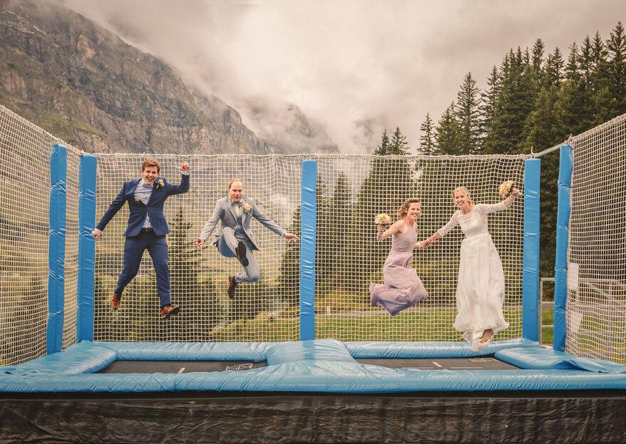 Unvergessliche Hochzeitsfeiern in den Alpen – trauen Sie sich ganz nach oben!