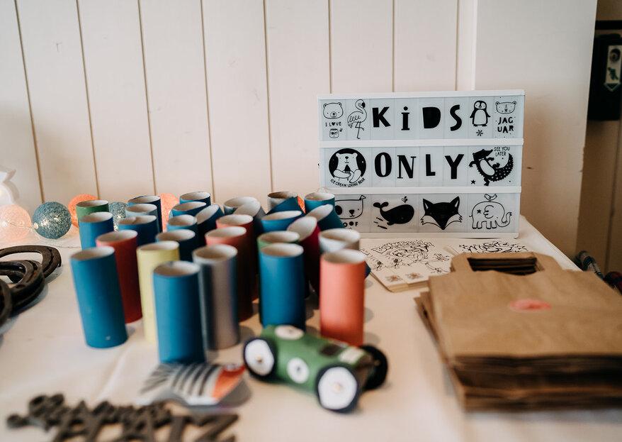 Kinder an den Hochzeiten - Die Vorteile einer professionellen Betreuung!