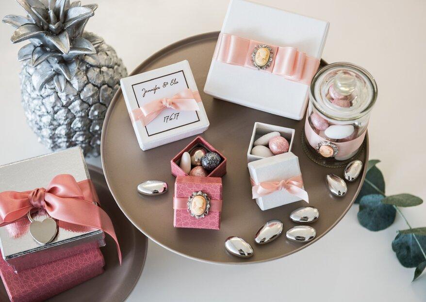 Zuckermandeln: Süsse und individuelle Gastgeschenke!