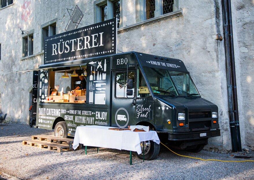 Trendy, modern und cool: Der Rüsterei Food Truck für Ihre Hochzeit!