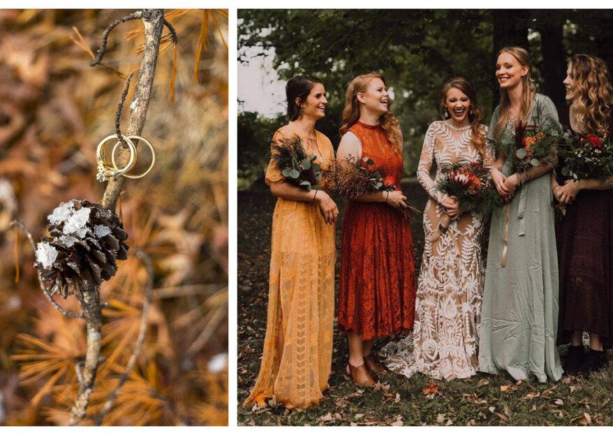 Dos and Don'ts: Outfit Ideen für eine Herbsthochzeit