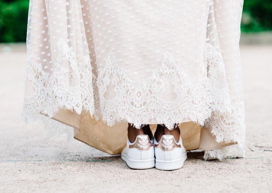 Die coolsten Sneaker für die Braut - So sagen Sie stylisch und sportlich JA!