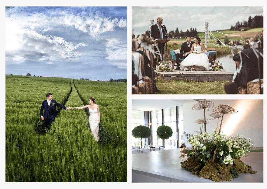 Green Wedding: Grün heiraten mit diesen Hochzeitsdienstleistern