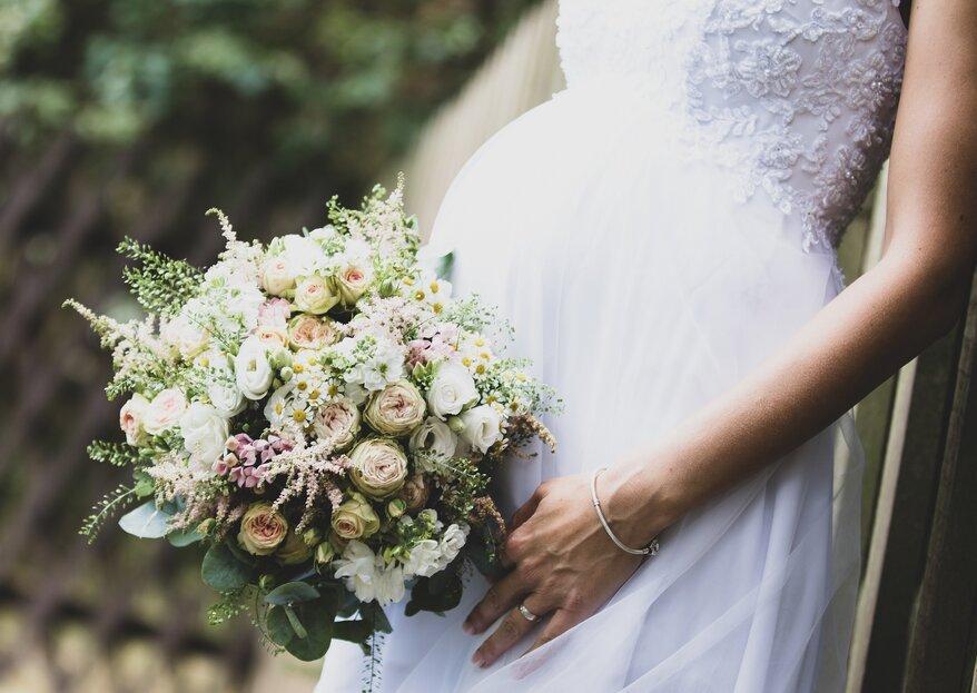 Schwanger heiraten – das sollten Bräute mit Babybauch wissen