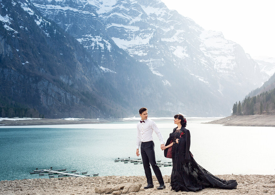 Slatana Photography & Videography fotografiert elegante Hochzeits-Reportagen