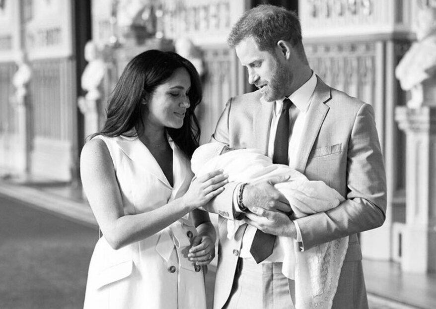 Baby Sussex: Die ersten Fotos des Sohnes von Harry und Meghan