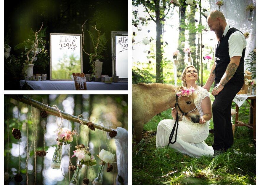 Ihr wünscht euch eine Hochzeit im Wald? Wir verraten euch wie es geht!