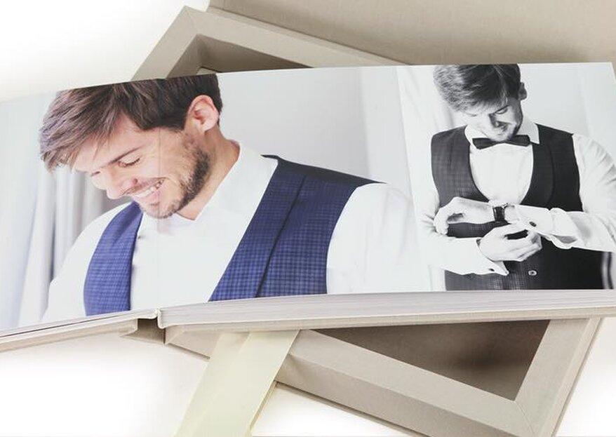 Ihr Fotobuch zur Hochzeit - Das perfekte Andenken an den schönsten Tag im Leben!
