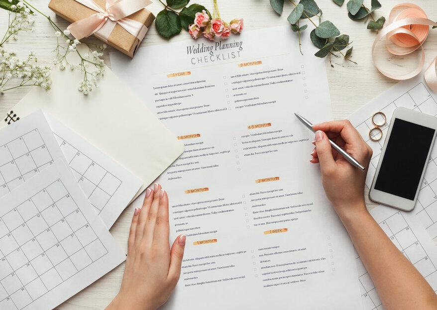 Wie organisiert man eine Hochzeit? – Hochzeitsplanung in 12 Monaten
