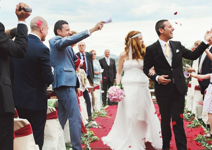 Achtung: 6 No Gos, die kein Brautpaar am Tag der Hochzeit machen sollte!