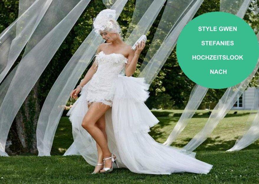 Gwen Stefanies Hochzeitslooks und wie du sie ganz einfach nachstylen kannst