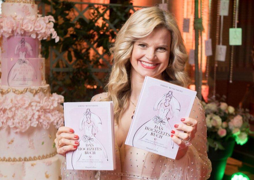 Nadine Metgenberg feiert eine beeindruckende Buch-Party!