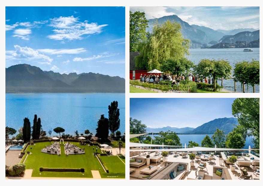 Wunderschöne Schweizer Hochzeitslocations am See