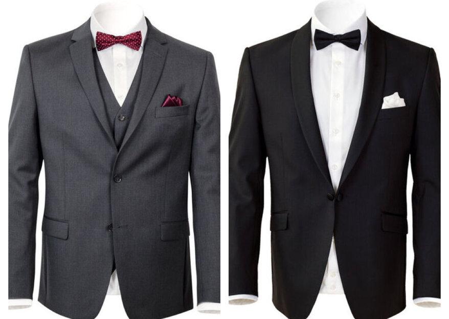 Kaufen Sie noch oder mieten Sie schon? Wie Sie den perfekten Anzug für sich und Ihre Trauzeugen online mieten!