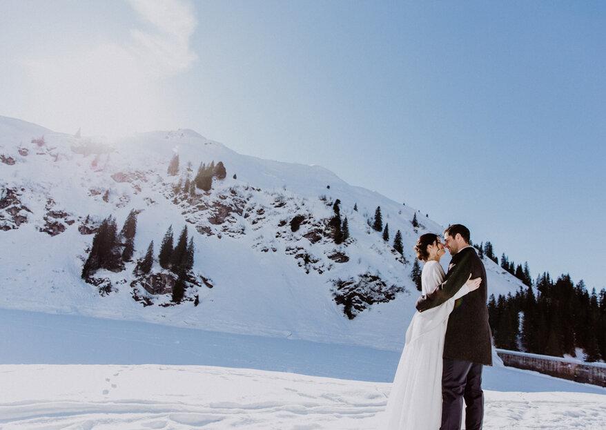 Winterlicher Hochzeitszauber im Glarnerland