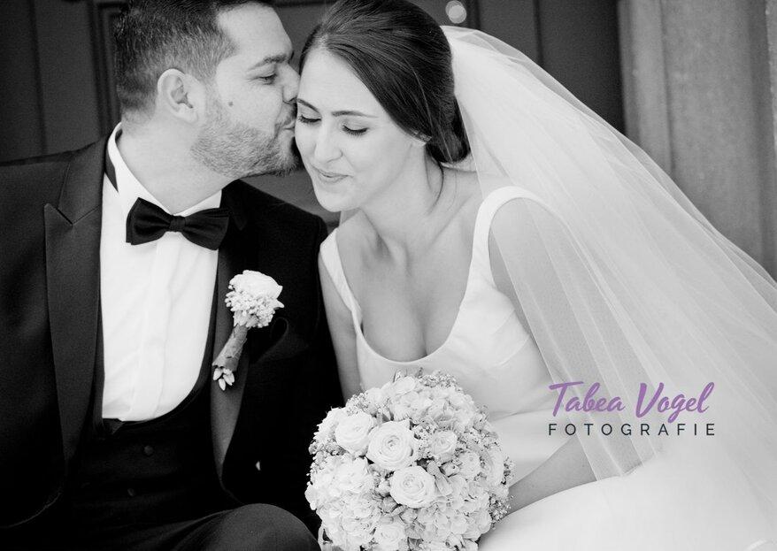 Hochzeitsfotografie vom Feinsten – Fotografin Tabea Vogel begleitet Sie mit viel Leidenschaft und Expertise