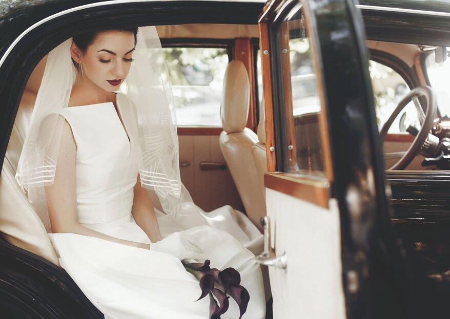 Hochzeits-Fahrzeuge der besonderen Art bei Fondation Renaud