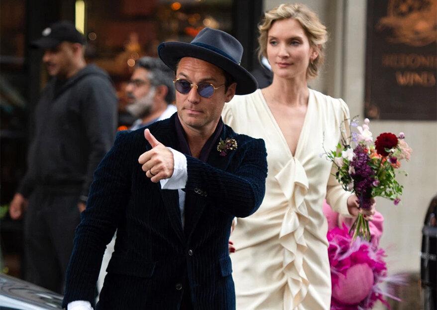 Jude Law hat heimlich geheiratet