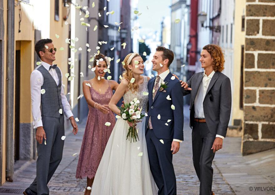 EMANIS bietet trendige Hochzeitsmode für den Bräutigam