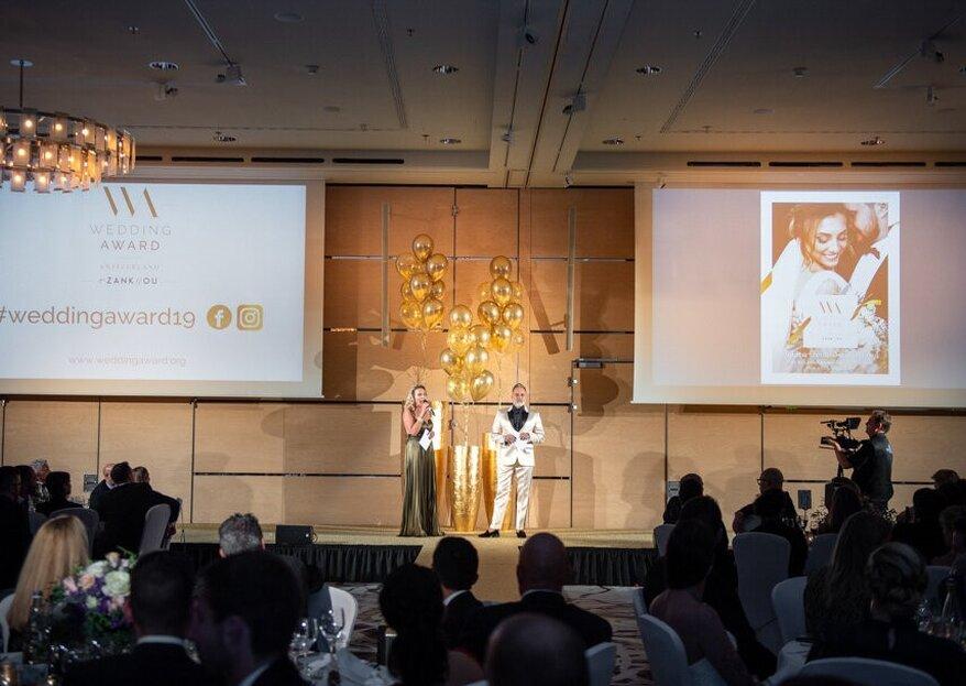 Der Wedding Award 2019: Finden Sie die Gewinner im Golden Guide Switzerland!