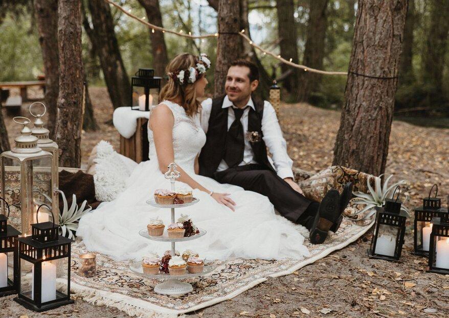 Styled Shooting mit Boho-Flair –Willkommen beim romantischen Picknick!