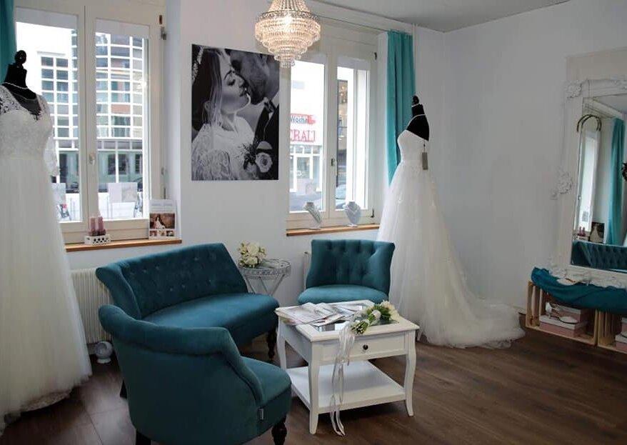 Festlich & einzigartig: Kennen Sie schon die Brautmodem-Boutique L'amore-Brautmode in Solothurn?