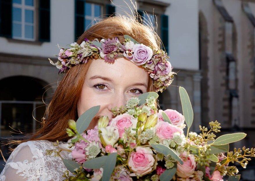 Blumentanz in der Wasserkirche in Zürich - Hochzeits-Seminar mit Franz-Josef Wein