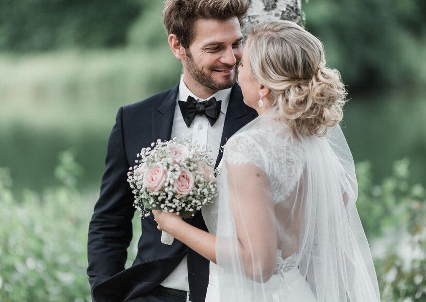 Mit Hilfe dieser Dienstleister feiern Sie eine Bilderbuch-Hochzeit
