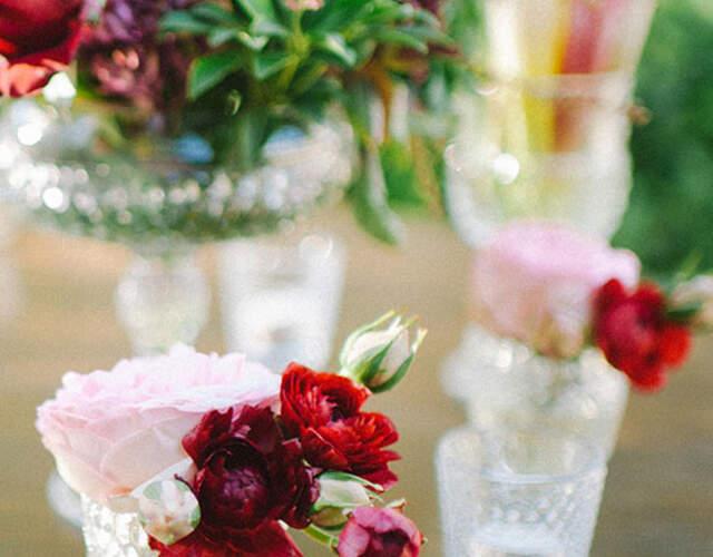 Hochzeitsdekoration in Genf